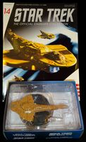 Star Trek The Official Starships Collection #14 Cardassian Galor Class - Pre-Owned